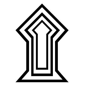 "Unicode Character ""۩"" (U+06E9) ۩ Name:Arabic Place of Sajdah by znamenski"