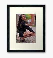 Brazilian Barbie Framed Print