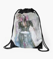 Zombie Punx Drawstring Bag