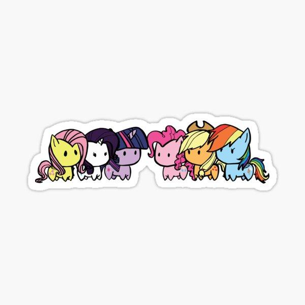 pony group Sticker