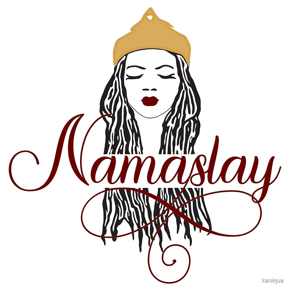 Red Namaslay African American Woman Dreads by kenique