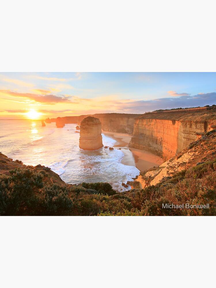 Twelve Apostles Sunset, Great Ocean Road, Australia by Chockstone