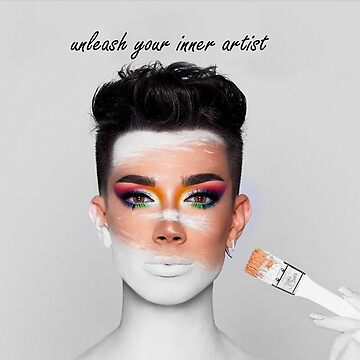 Unleash Your Inner Artist - James Charles Merch YouTube 2019 by Caroline-Wang