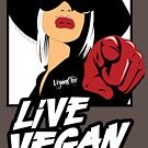 VeganChic ~ Live Vegan by veganchic