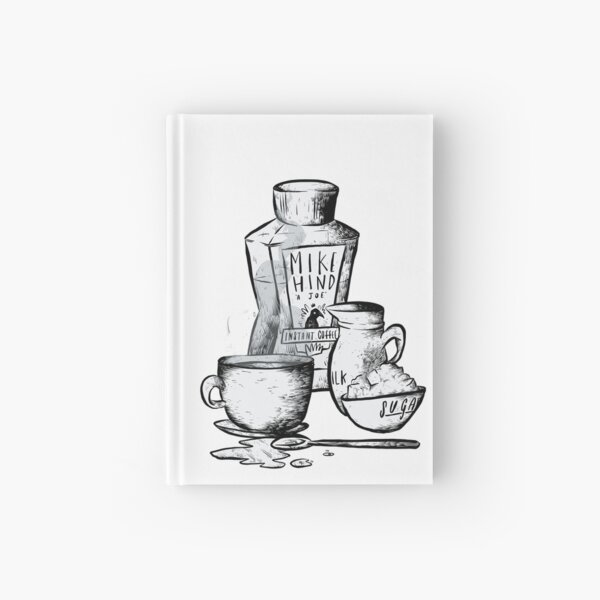 Instant Coffee Hardcover Journal