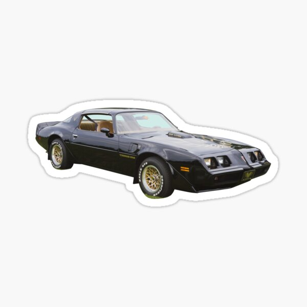 1980 pontiac Trans Am Muscle Car Sticker
