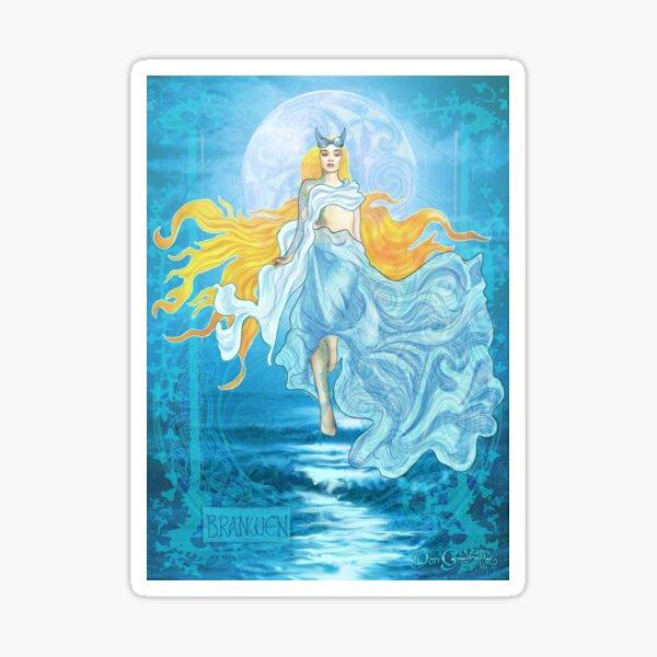 Celtic Goddess - Branwen Sticker