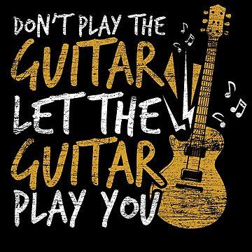 Guitar musical instrument by GeschenkIdee