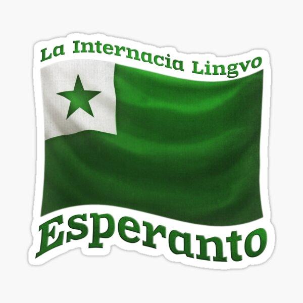 Esperanto Flag Sticker
