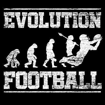 Football Evolution by GeschenkIdee