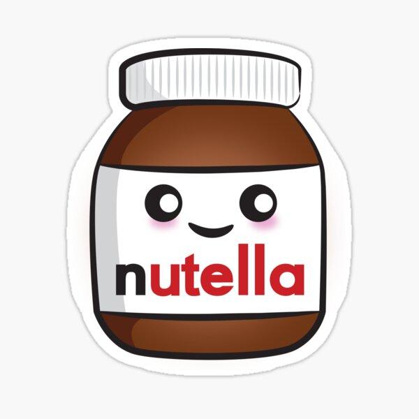 Nutella face 2 Sticker