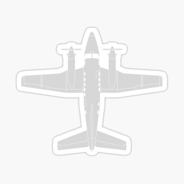 Beechcraft King Air Sticker
