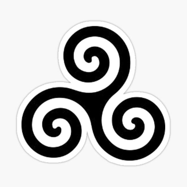 Dreifachspirale / Triskele Sticker