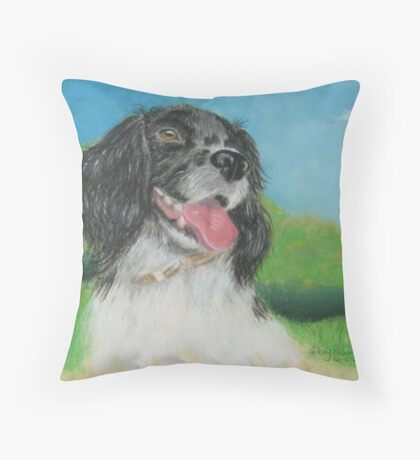 Alice's dog Sammy Throw Pillow