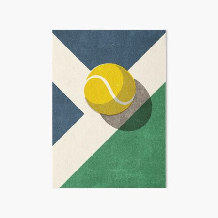 BALLS / Tennis (Hard Court) Art Board Print