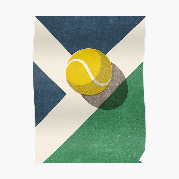 BALLS / Tennis (Hard Court) Poster