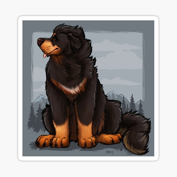 Tibetan Mastiff Sticker