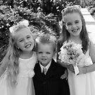 Flower Girls & Pageboy by Belinda Fletcher