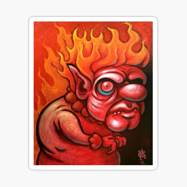 I'm the Heat Miser Sticker