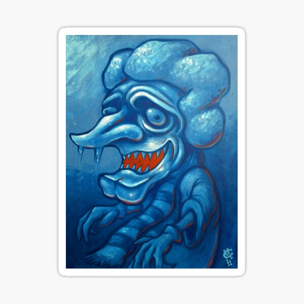 I'm the Snow Miser Sticker