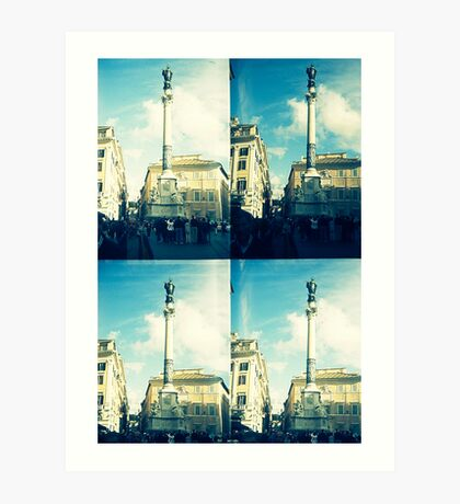 Rome Under An Acid Sky Art Print