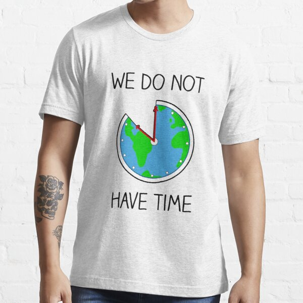 Fridays For Future - Welt als Uhr Essential T-Shirt
