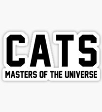 CATS - Masters of the Universe! Sticker