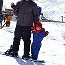 Snowboarding With Dad by Belinda Fletcher
