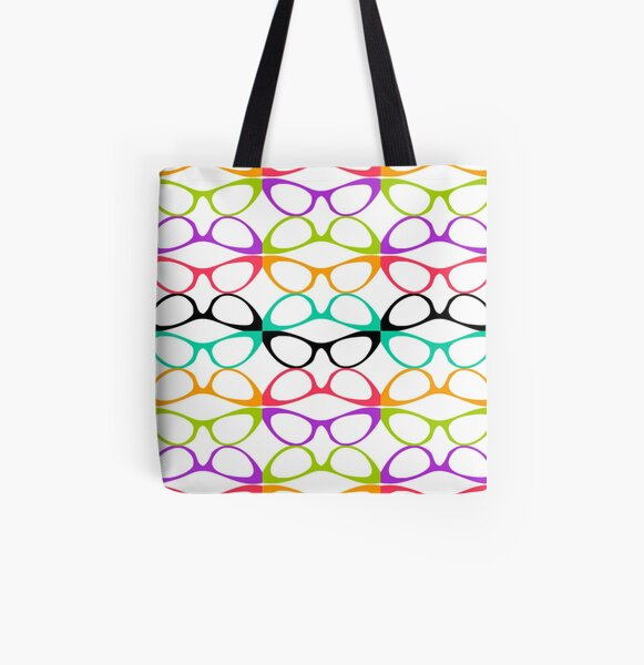 Spectacular Cat Eyes All Over Print Tote Bag