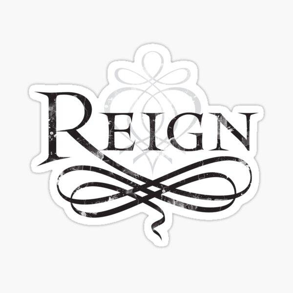 Reign Logo Sticker