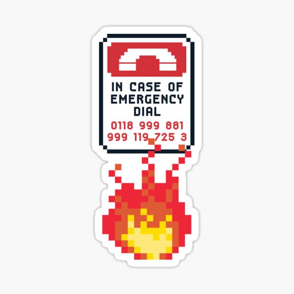 For Better Looking Responders Dial... Sticker
