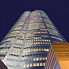 Copy of Roppongi Hills Mori Tower at Night - Purple Sky by DLKR