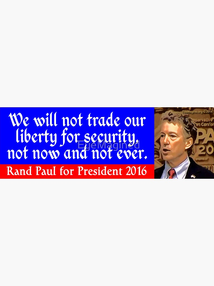 Rand Paul 2016 by EyeMagined