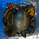 Old Bank Road, Dewsbury - Planet by Lucy Martin