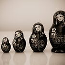 Matryoshka Dolls by AnnieD
