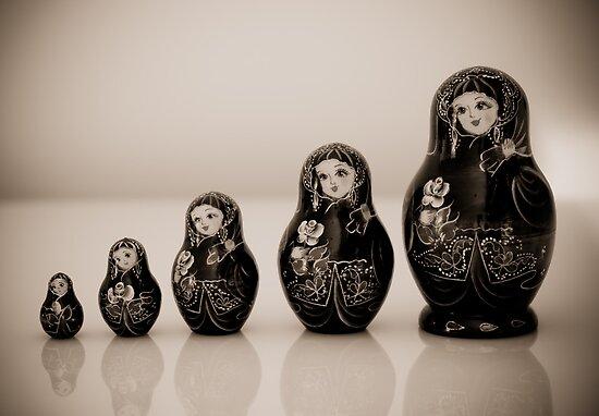Matryoshka Dolls by AnnieD