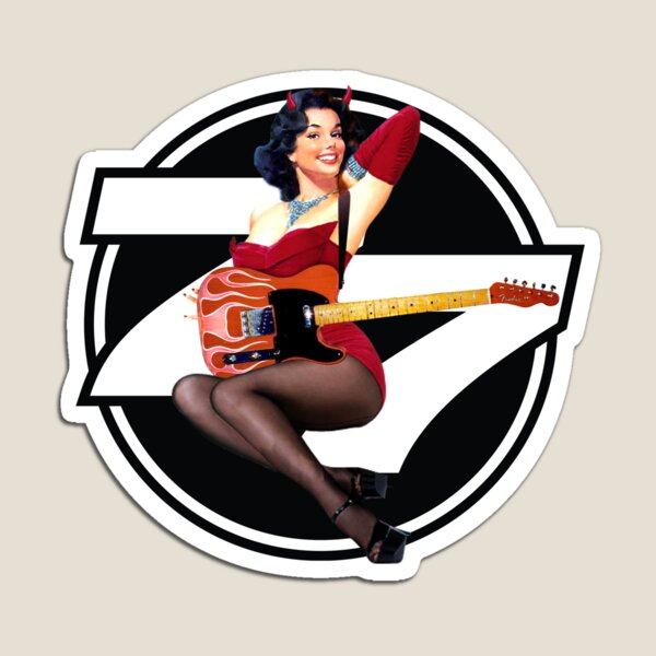 77 El Deora -Pin Up (a) Magnet
