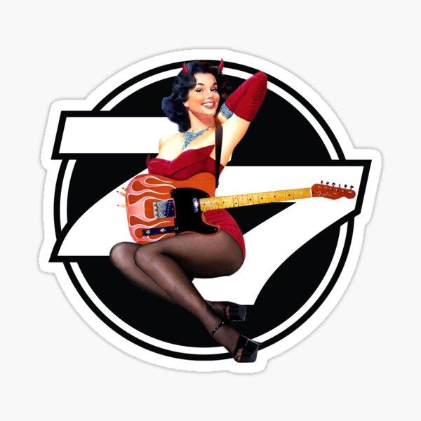 77 El Deora -Pin Up (a) Sticker