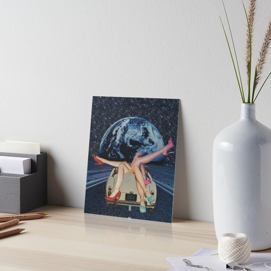 Trip Art Board Print