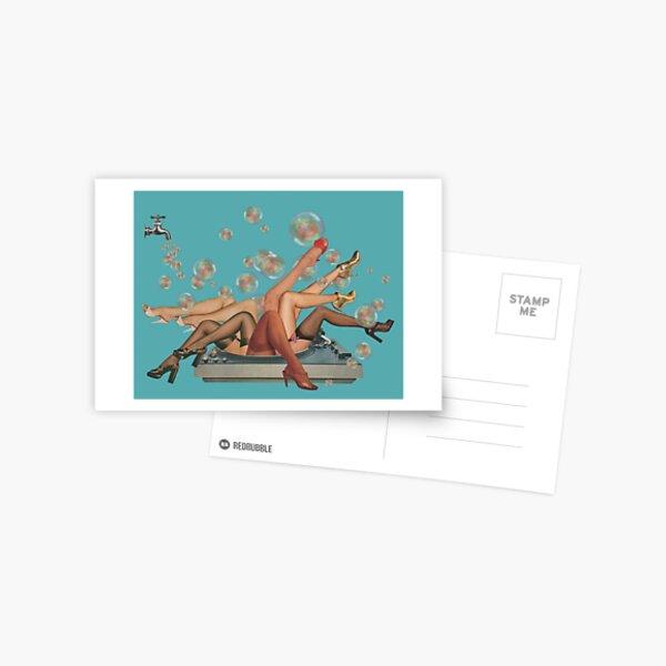 Spun Postcard