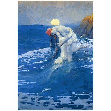 «La sirène de Howard Pyle» par Chunga