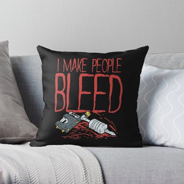 Tattoo Maker T-Shirt skin art ink Throw Pillow