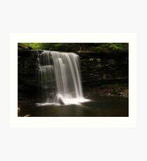 Harrison Wright Waterfalls-Ricketts Glen State Park Art Print