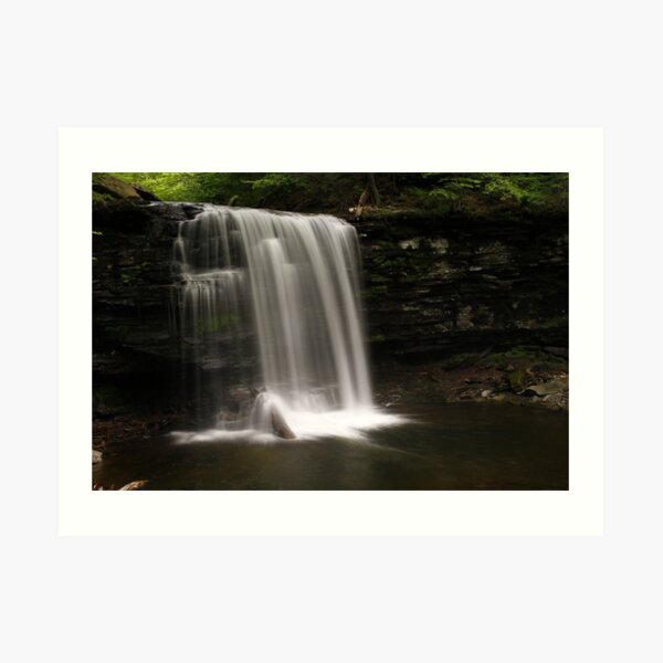 Harrison Wright Waterfalls-Ricketts Glen State Park Art Print