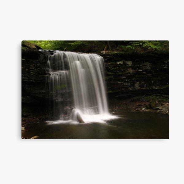 Harrison Wright Waterfalls-Ricketts Glen State Park Canvas Print