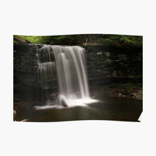 Harrison Wright Waterfalls-Ricketts Glen State Park Poster