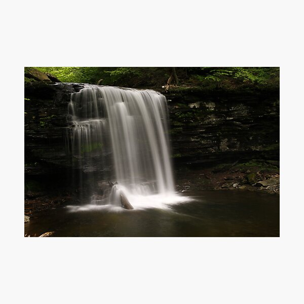 Harrison Wright Waterfalls-Ricketts Glen State Park Photographic Print