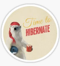 Time to Hibernate Sticker