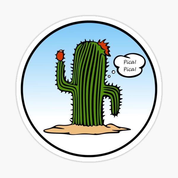 Spanish Cactus Sticker