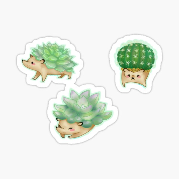 hedgehog set Sticker
